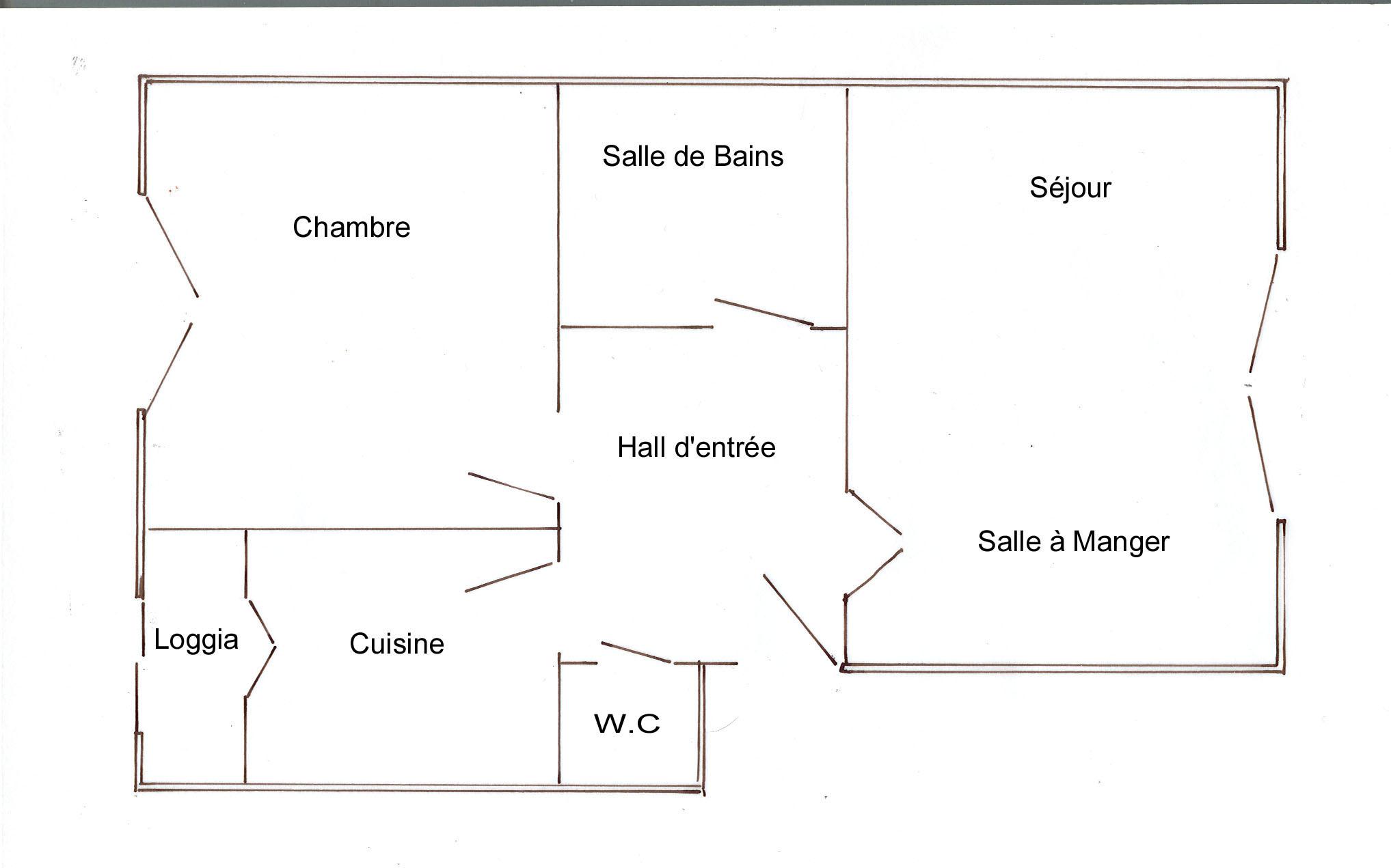 Plan De L Appartement